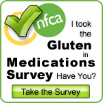 Take the Gluten in Medications Survey