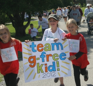 Team G-Free at Celiac Walk