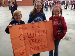Take Me Out to the Gluten-Free Ballgame- Proud to be Gluten-Free Kids