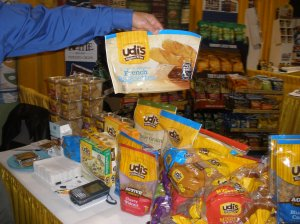 Gluten-Free Travel: Udi's Gluten-Free Products at the KeHE Show