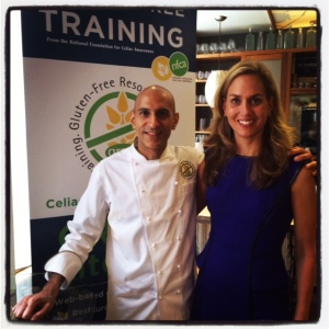 GREAT Kitchens Gluten-Free Chef's Table Tour: Stop #1 at Mehtaphor in New York City: Chef Mehta and Alice Bast