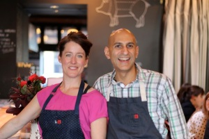 Portland: A Booming Foodie Community: Chefs Naomi Pomeroy and Jehangir Mehta at Beast