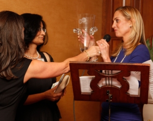 Ageing Out: Alice Bast Gives Award to Dr. Ritu Verma